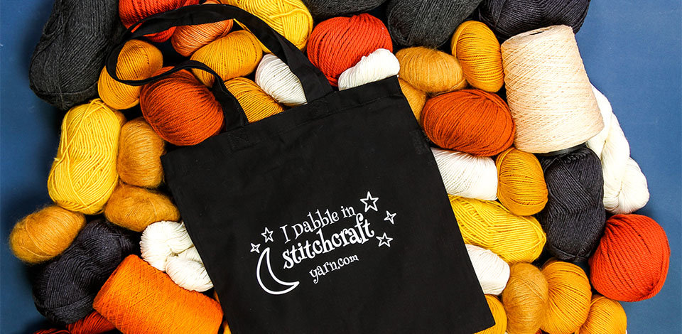 Click here to see the I Dabble in Stitchcraft Tote bag you can receive FREE with a $75 purchase.