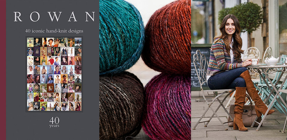 Click here to see the Rowan 40 Years book you can receive FREE with $75 purchase of Rowan yarn.