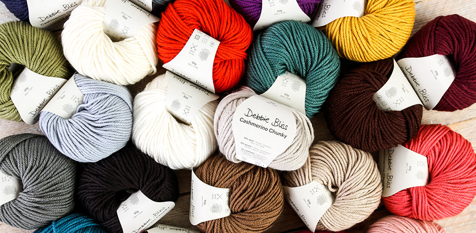 Click here to shop our selection of Debbie Bliss Yarns.