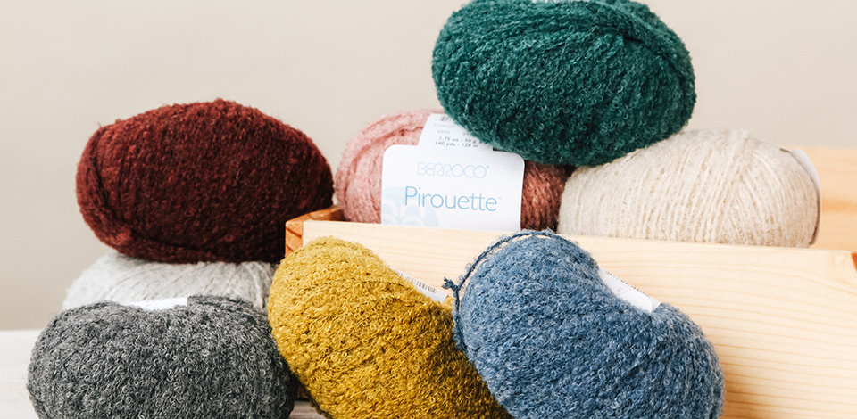 Click here to shop bulky and super bulky closeout yarns and save an EXTRA 15% through Sunday.