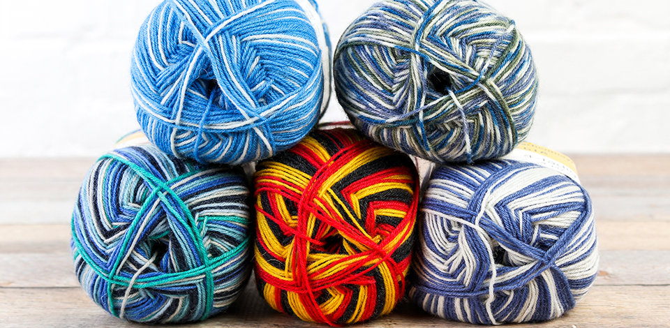 Click here to shop Regia yarns and ready your sock drawer for handknit season.