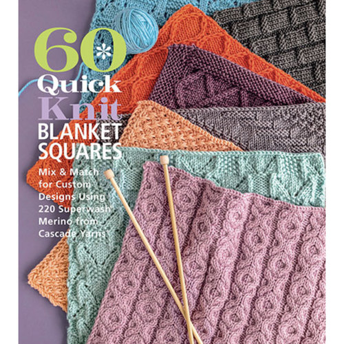 View larger image of 60 Quick Knit Blanket Squares