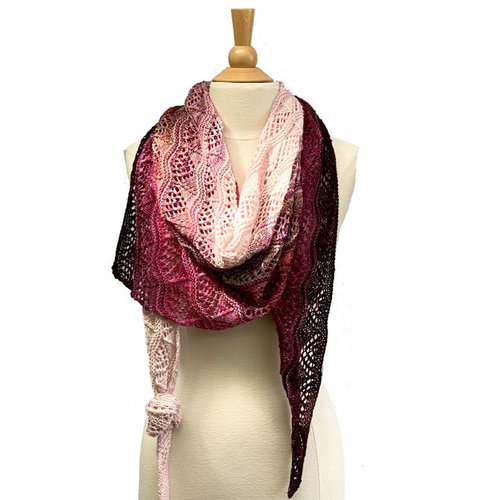 View larger image of Grevillea Shawl PDF
