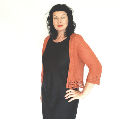 View larger image of Ochre Cardigan PDF