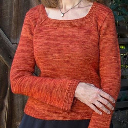 View larger image of 103 Killarney Top-Down Pullover PDF
