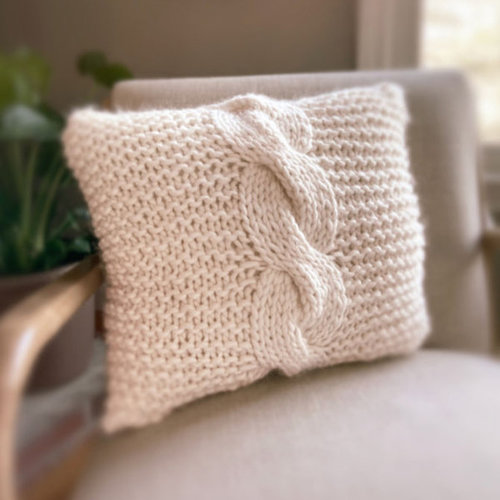 View larger image of Macro Cable Pillow (Free)