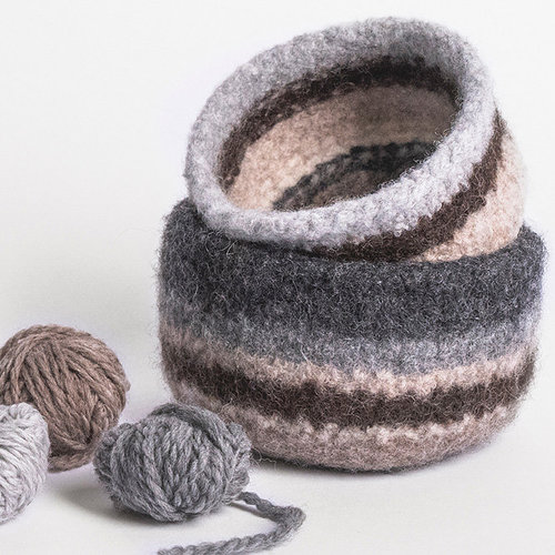 View larger image of Fairmont Felted Bowls (Free)