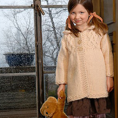 View larger image of Girl's Smocked Coat