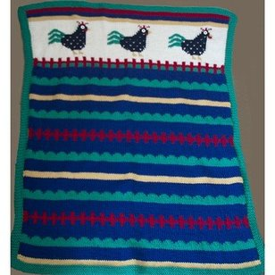 A182 Rooster Blanket (Free)
