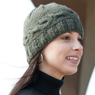 C192 Cabled Band Hat (Free)
