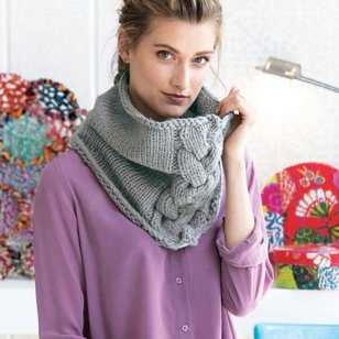 Comfy Cabled Cowl Kit