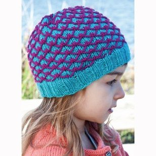 DK263 220 Sport Royal Quilting Hat (Free)