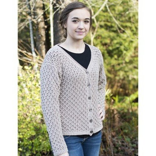 View larger image of DK389 Lace Cardigan (Free)