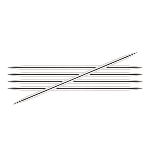 View larger image of 8 Inch Silverlite Double Pointed Needles