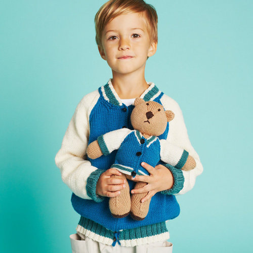 View larger image of Billy Jacket and Buddy Bear PDF
