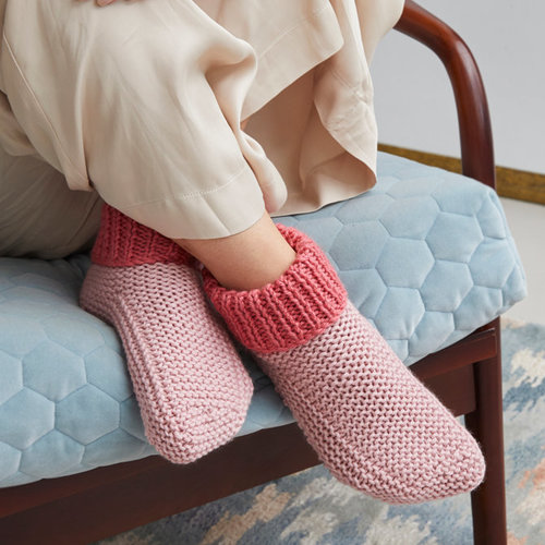 View larger image of Cosy Slipper Socks PDF