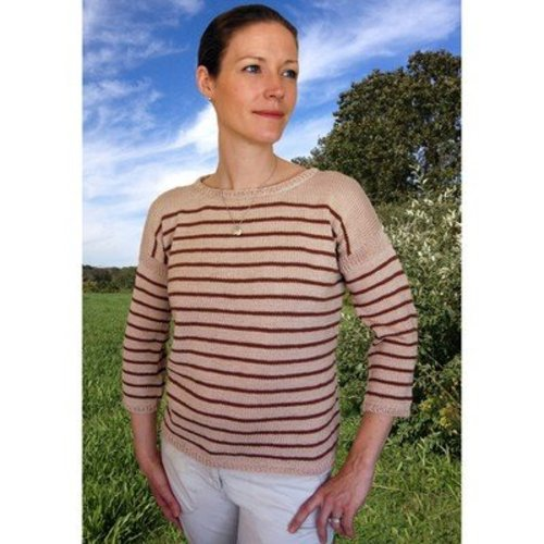View larger image of K2.59 Bretton Sweater to Knit PDF