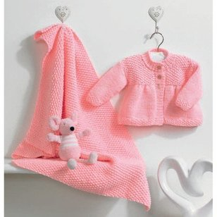 Peaches Jacket and Blanket PDF