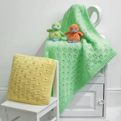 View larger image of Sophie Blanket and Cushion PDF