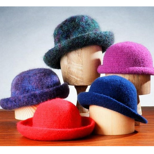 View larger image of AC11 Crocheted Felt Hats
