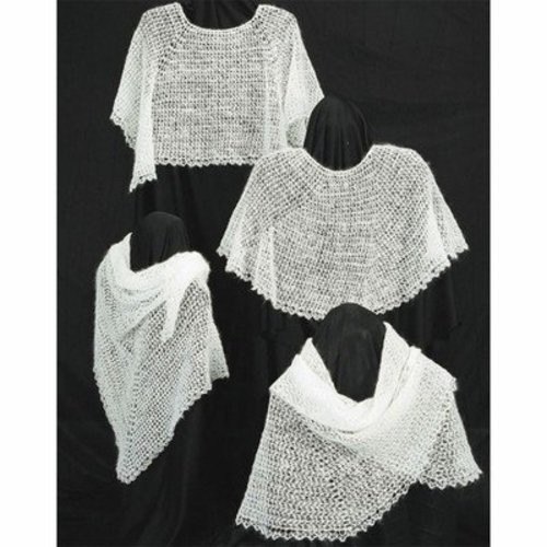 View larger image of AC31 Crocheted Cobweb Capelets & Shawls