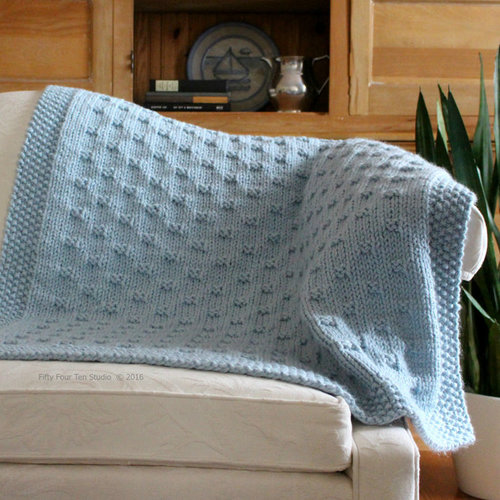 View larger image of Belleview Blanket PDF