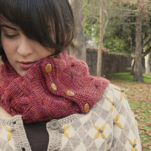 Reversible Tangled Branches Cowl PDF