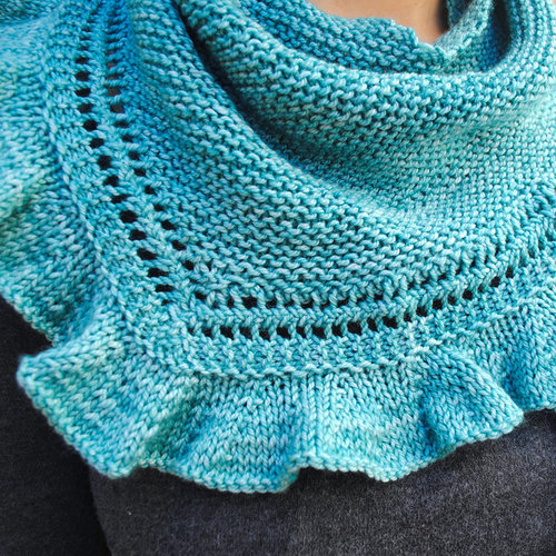 View larger image of Riverbed Shawlette PDF