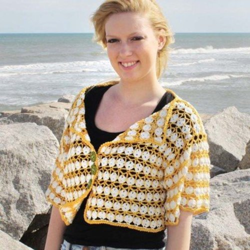 View larger image of Garden Party Cardi PDF