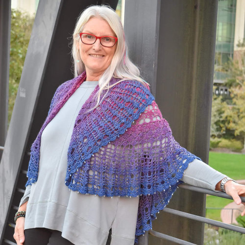 View larger image of Summer of Love Shawl PDF