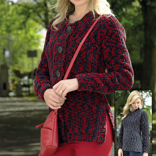 View larger image of JB334 Sweater And Cardigan