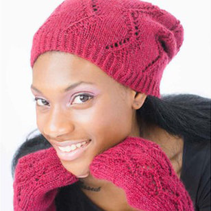 Illilouette Hat & Mitts - The Dales Collection