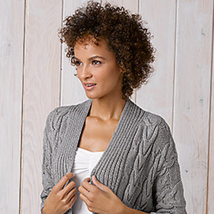 Cabled Cardigan (Free)