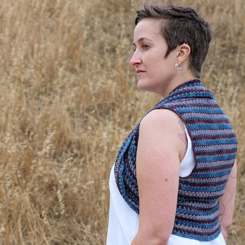 View larger image of Tricolor Shrug PDF