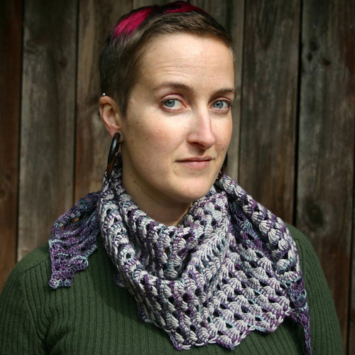 View larger image of Wind and Sea Shawl PDF