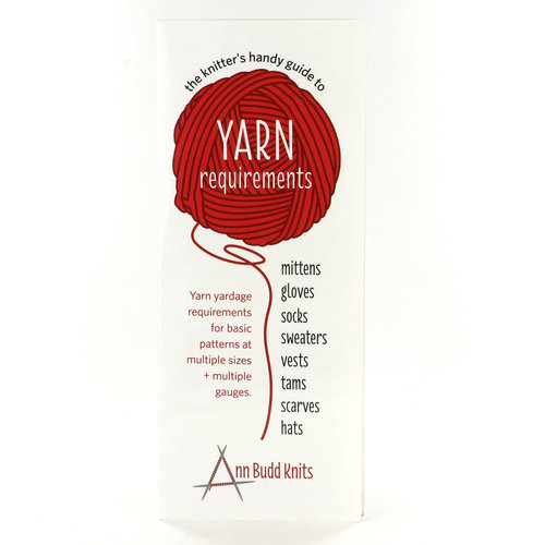 View larger image of Knitter's Handy Guide to Yarn Requirements