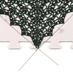 Lace Blocking Wires