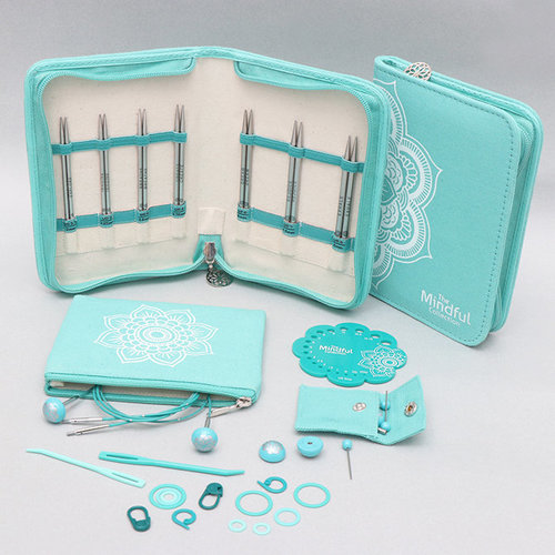 View larger image of Mindful Collection Lace Interchangeable Needle Set - Believe