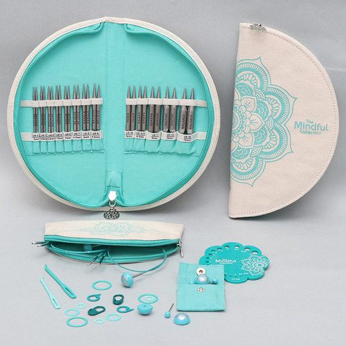 View larger image of Mindful Collection Lace Interchangeable Needle Set - Warmth