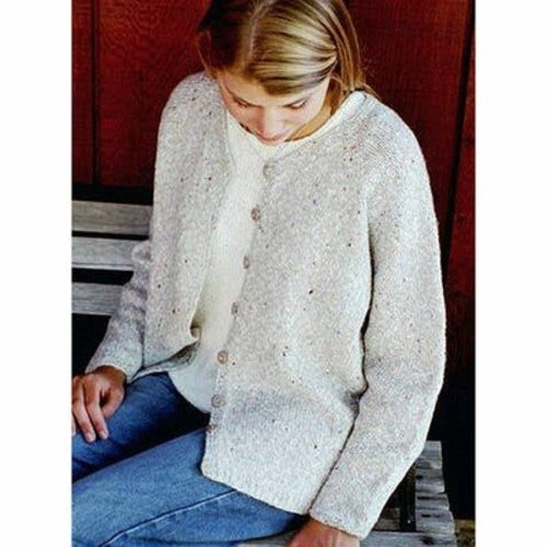 View larger image of 994 V-neck Neck Down Cardigan