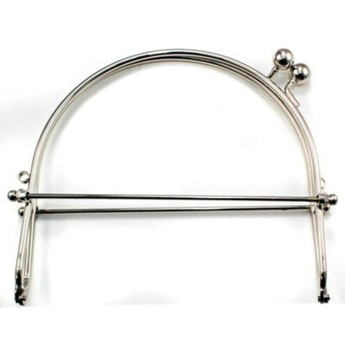 """View larger image of Snap Purse Frame, 6"""" with Loops"""