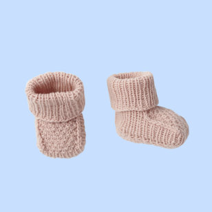 01/02 Baby Bootees PDF