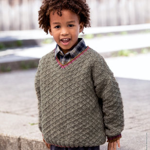 06 Kid's Pullover in Slow Wool Canapa PDF