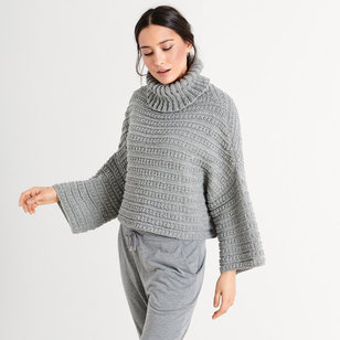 12 Pullover in Slow Wool Canapa PDF
