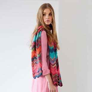15 Scarf in Colorissimo & Silkhair Kit