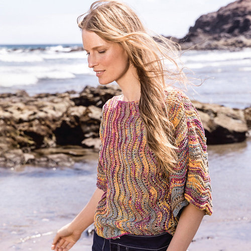 View larger image of 23 Crocheted Pullover in Linea Pura A Mano PDF