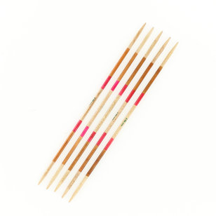Ayurveda 6 Inch Double Pointed Needle