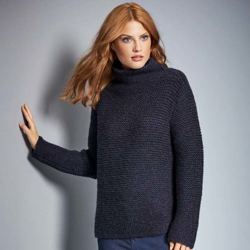 View larger image of Design 88 Pullover Kit in Alta Moda Cashmere 16