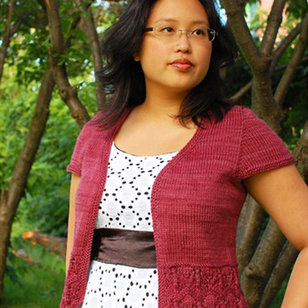 Bellevue Cardigan for Worsted Weight Yarn PDF
