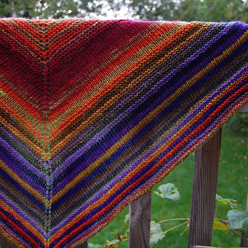 View larger image of Simple Yet Effective Shawl PDF